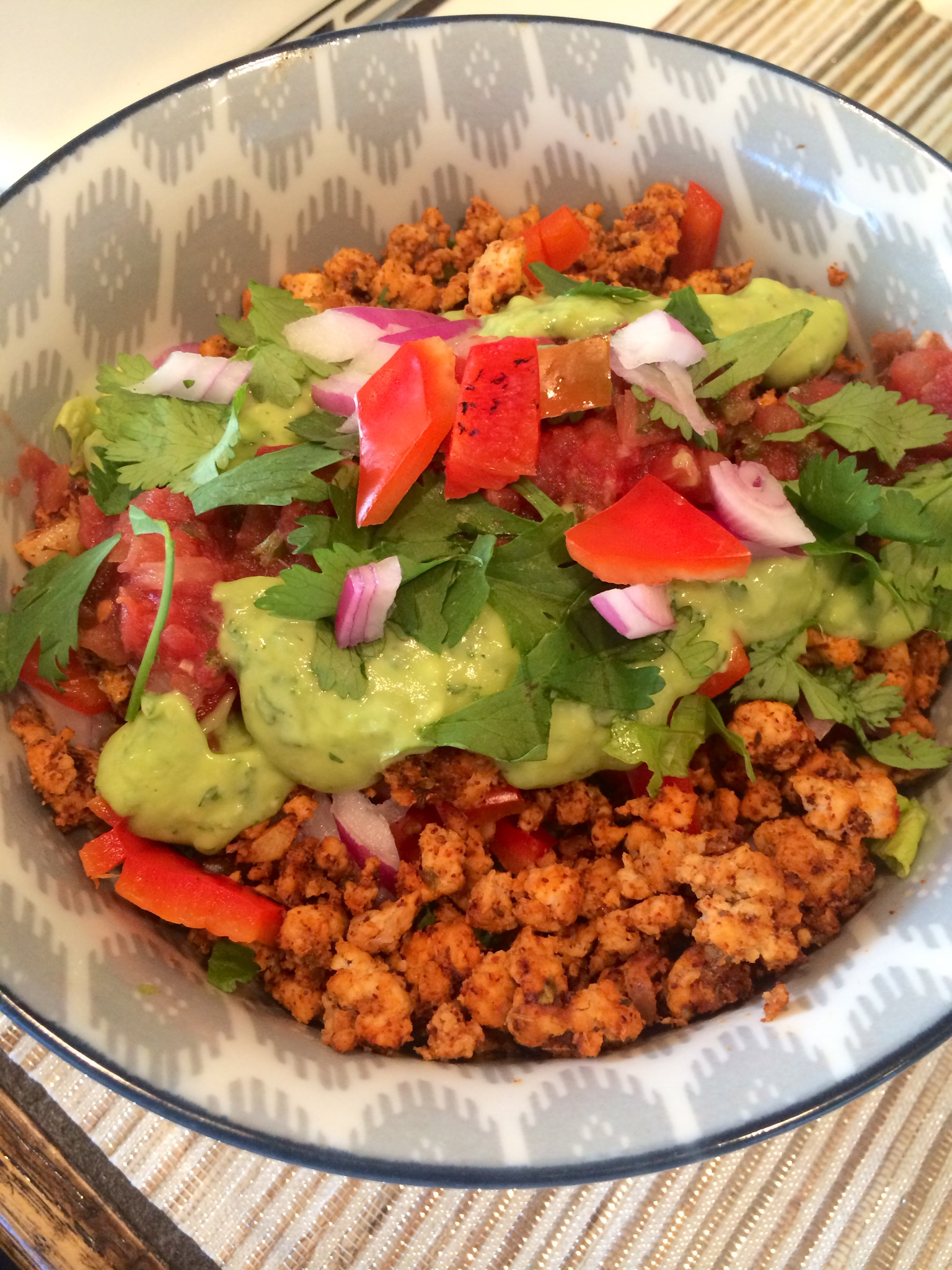 how to cook ground turkey for taco salad