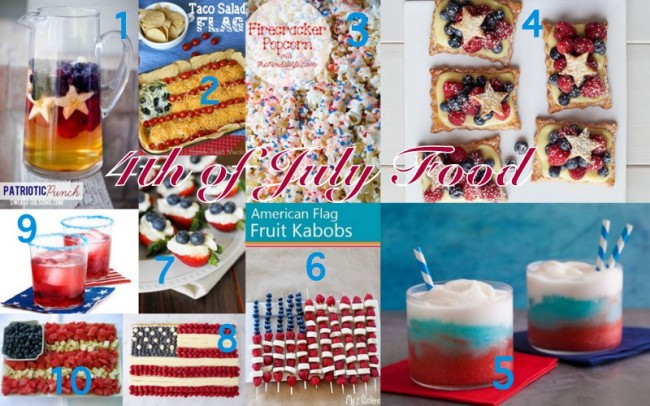 4th of July Food1