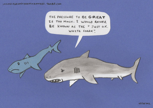 I feel you Mr. Shark!