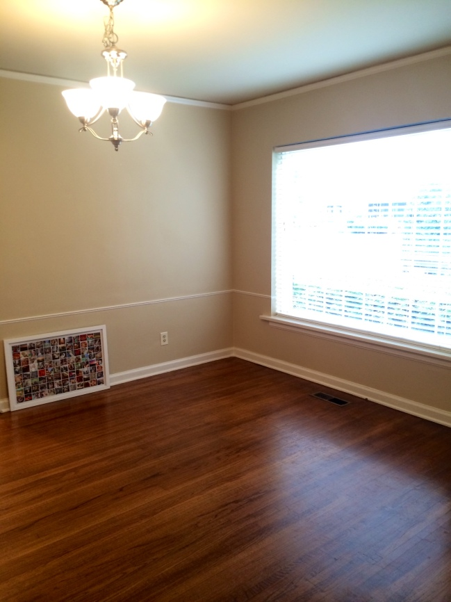 Pros: great natural light, crown molding, hardwood floors.